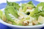 Hoe lang kun je Caesar salade Dressing gemaakt met rauwe eierdooier?