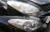 Hoe schoon de koplampen van uw auto