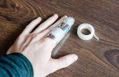 Hoe Splint een vinger