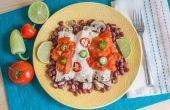 Hoe maak je kip Enchiladas