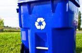 Hoe bewaart u een afval Container in de voortuin