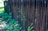 Instructies voor het bouwen van een houten hek