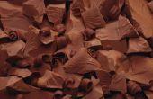 Hoe chocolade smelten voor mallen