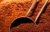 Onkruidbestrijding met de koffie gronden
