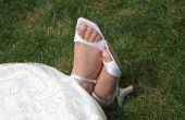 Hoe Dye witte lederen schoenen zwart