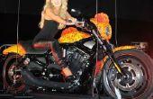 Hoe lager de voorvork veren op een Harley Davidson Road King