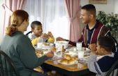 Het wijzigen van een formele eetkamer naar een ontspannen eten gebied