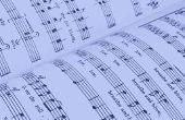 Hoe om te lezen van akkoorden op bladmuziek