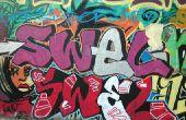 Hoe teken je eenvoudige Graffiti