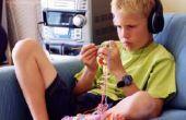 Hoe te een zaad Stitch rand rond een sjaal breien