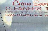 Hoe kan ik een baan krijgen in Crime Scene Cleanup?