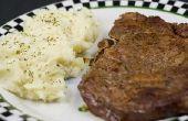 Hoe om een Ribeye Steak magnetron
