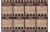 Hoe kan ik een kalender in Excel 2007 invoegen