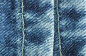 Hoe om te naaien Darten ter vermindering van de taille op Jeans
