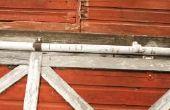 Hoe te houden van regen uit het invoeren van een glijdende schuur deur