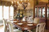 Kunt u Oak mengen met kersenhout voor een tafel en stoelen?