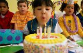 Wat te vragen bij een boeking van een trefpunt van de verjaardagspartij van een jong geitje