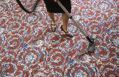 Herstellen van tapijt na waterschade