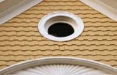 Hoe te verwijderen van de schimmel uit de dakrand van mijn huis