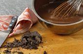 Hoe maak je chocolade bedekte Graham Crackers
