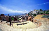 Oude Griekse theater verdragen & praktijken