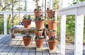 Hoe maak je een verticale klei Pot tuin