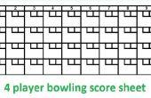 Hoe Compute Bowlen Scores met de Hand