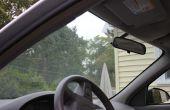 Beste manier om de binnenkant van de voorruit van de auto schoon te maken