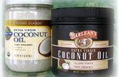 Hoe bewaart u kokos olie