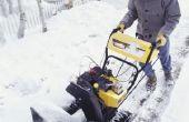 How to Start een sneeuwblazer met het starten van de vloeistof
