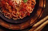 How to Tone Down te veel chilipoeder in Spaghetti