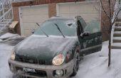 Bevroren auto deur remedie