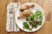 Hoe om te koken de stukken kip in een Convectie Oven