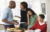 Het instellen van de grenzen met volwassen broers en zussen
