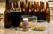 Het gebruik van Iers mos in bier