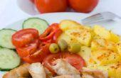 Lage Calorie, met laag vetgehalte bronnen van eiwit