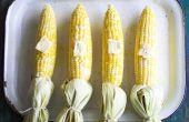 Hoe heerlijk en vochtige maïs op de kolf in de Oven bakken