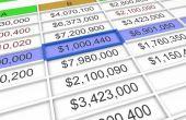 Hoe de berekening van de gemiddelde in Excel 2007