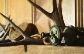 Hoe maak je houten L-beugels