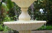 Hoe te repareren van een 3-Tier waterval fontein