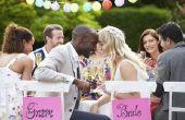 Hoe maak je een bruiloft programma op Microsoft Word