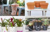 Dingen te maken met Terra-Cotta potten