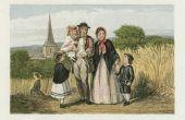 Vroege 19e-eeuwse kinderkleding