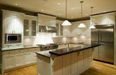 Het bijwerken van uw keuken op een begroting
