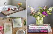 10 betaalbare DIY projecten om te zetten uw badkamer in een heiligdom