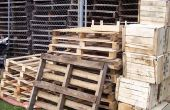 Hoe maak je iets met behulp van houten Pallets