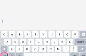 Hoe voert u een Backslash op een iPhone
