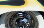 Hoe te poetsen een aluminium wiel met bruin Tripoli & witte Rouge