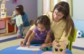 Cadeau Etiquette voor een kind-verzorger