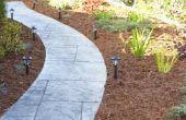 Hoe ter dekking van een modderige loopbrug